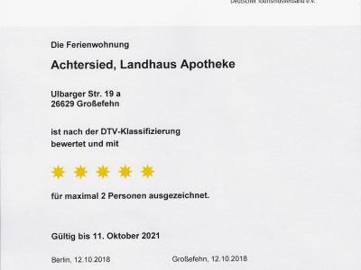 Bild 5* Ferienwohnung Achtersied im Landhaus Alte Apotheke, Ostfriesland