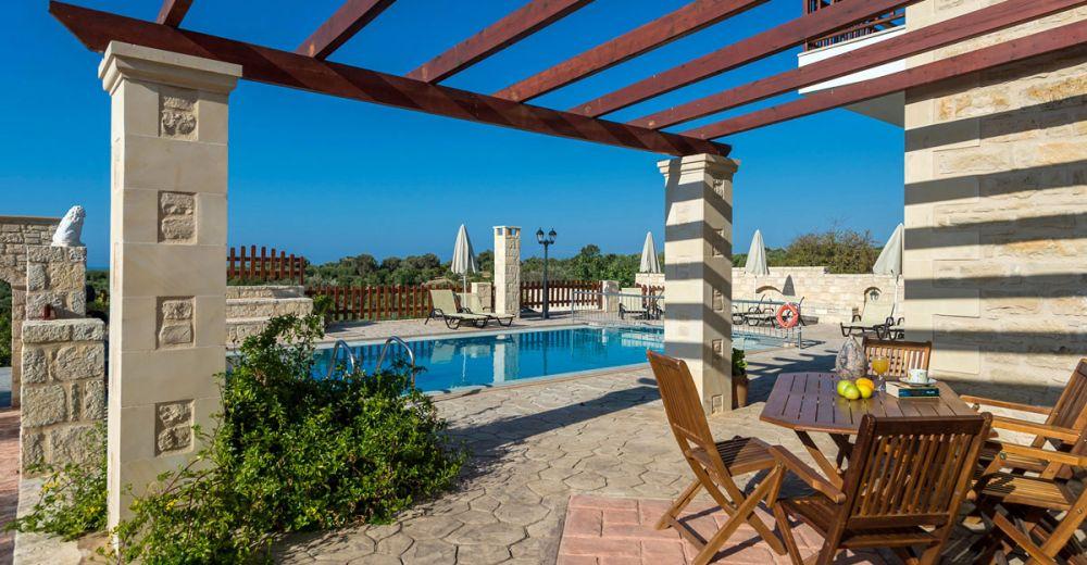 Kreta - Ferienhaus Erofili mit 4 Schlafzimmern