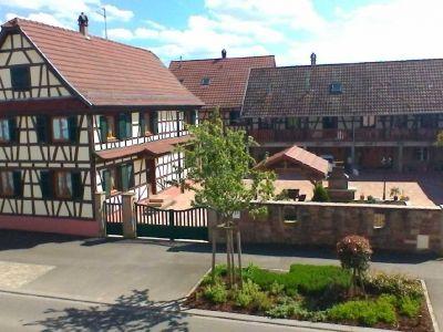 Ferienhaus Krauffel 4- 8 Personen im Elsass nahe bei Obernai