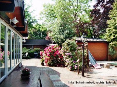 Bild FeWo CRAMER mit beheiztem Schwimmbad im Haus NORDSEEBAD BURHAVE