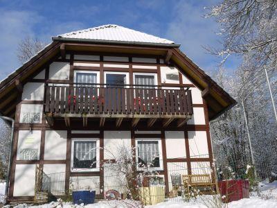 Karins Ferienhaus (EG) im Nationalpark Kellerwald