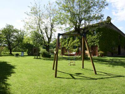 Landhaus zwischen Orvieto und BolsenaSee