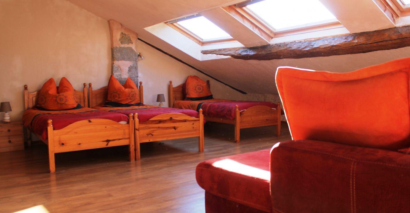 Zimmer auf Reiterhof in der Hoch provence