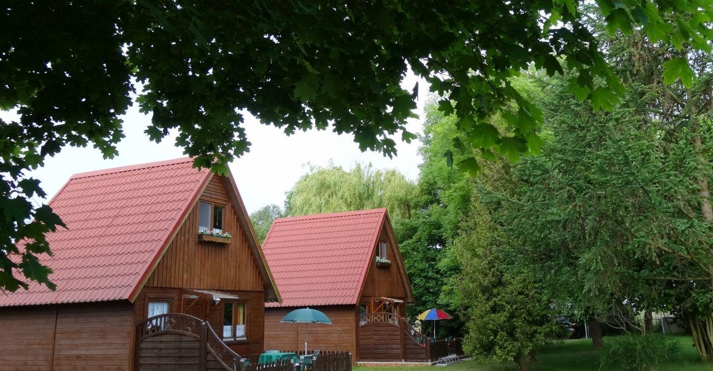 Zinnowitz auf Usedom - Holzhäuser
