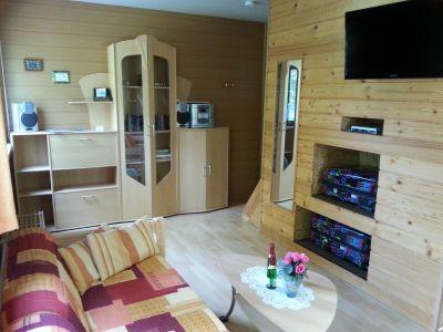 Bild Zinnowitz auf Usedom - Holzhäuser